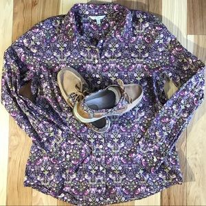 Sperry Top-Siders w/Matching Shirt